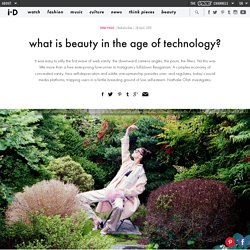 what is beauty in the age of technology?
