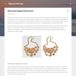 What is best Clipping Path Service?