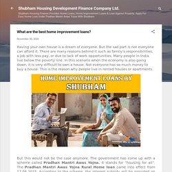 What are the best home improvement loans?