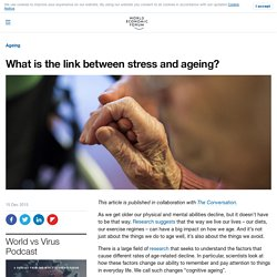 What is the link between stress and ageing?