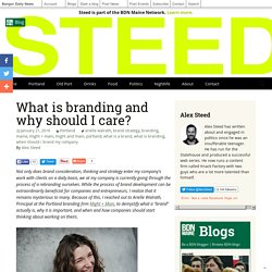What is branding and why should I care?