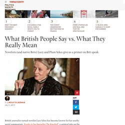 What British People Say vs. What They Really Mean