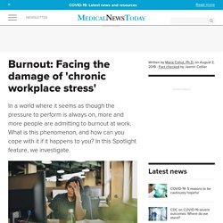 What is burnout, and how can you cope with it?