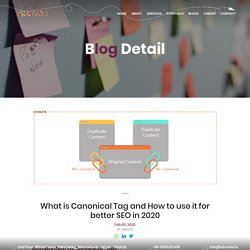 What Is Canonical Tag I How to Use Canonical tag