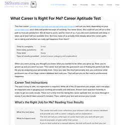 What Career Is Right For Me? Your 2021 Career Quiz