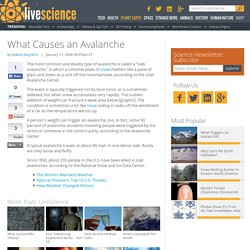 What Causes an Avalanche