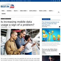 What do I need mobile data to reduce & managed data sign?