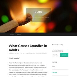 What Causes Jaundice in Adults