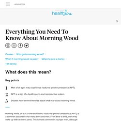 What Causes Morning Wood?