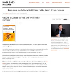 What's Changed in the Art of SEO 3rd Edition?