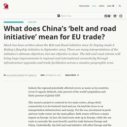 This is how China's New Silk Road initiative could impact European trade