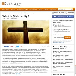 What is Christianity? The Basics
