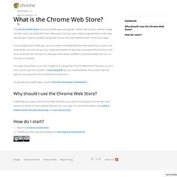 Chrome Web Store - Google Code