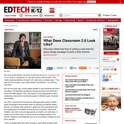 What Does Classroom 2.0 Look Like?