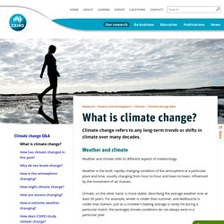 What is climate change? CSIRO