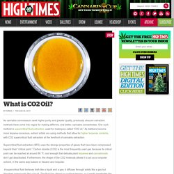 What is CO2 Oil?
