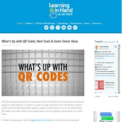 What's Up with QR Codes: Best Tools & Some Clever Ideas