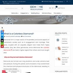 What is a Colorless Diamond? - Gemone Diamond