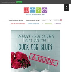 What Colours Go With Duck Egg Blue? - The Guide