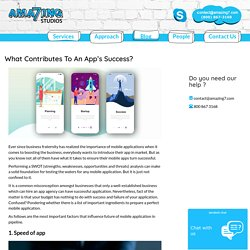 What Contributes To An App's Success?