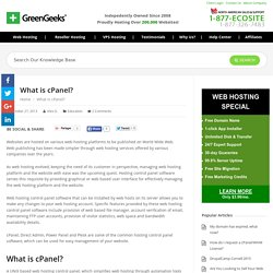 What is cPanel? - GreenGeeks®