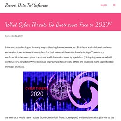 What Cyber Threats Do Businesses Face in 2020?