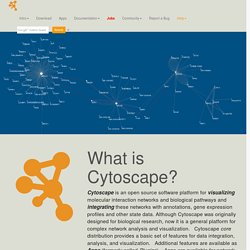 What is Cytoscape?