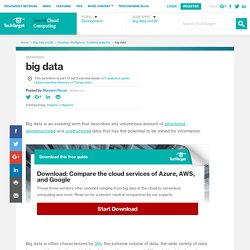 What is big data ? - Definition from WhatIs.com