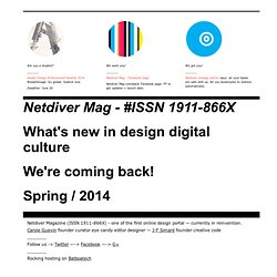 Netdiver -> Design anywhere digital culture