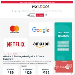 What is a Flat Logo Design? – A Quick Overview