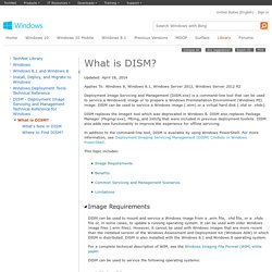What is DISM?