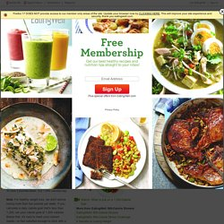 Healthy Recipes, Healthy Eating, Healthy Cooking