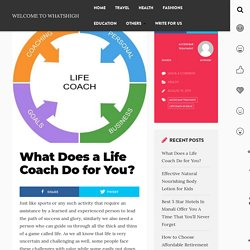 What Does a Life Coach Do for You - Solomomedia