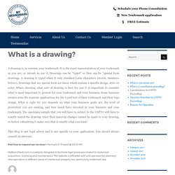 What is a drawing? – My Brand Mark Blog