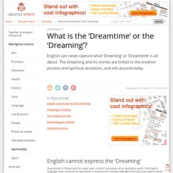 What is the 'Dreamtime' or the 'Dreaming'?