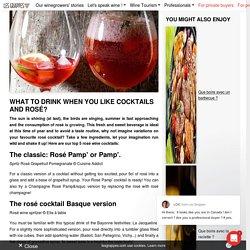 Cocktail Rosé : 5 recettes de cocktails à base de vin rosé pour l'été