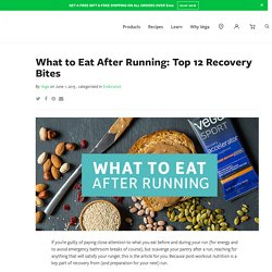 What to Eat After Running