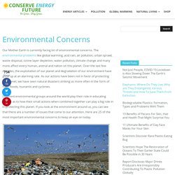 What are Top 25 Environmental Concerns?