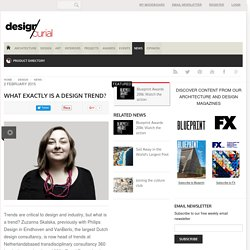 What exactly is a design trend?