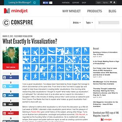 What Exactly Is Visualization?