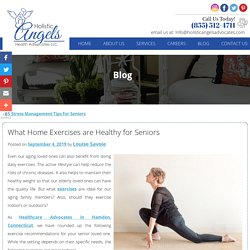 What Home Exercises are Healthy for Seniors