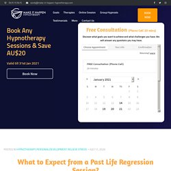 What to Expect from a Past Life Regression Session