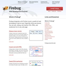 What is Firebug? : Firebug