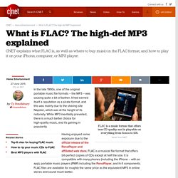 What is FLAC? The high-def MP3 explained
