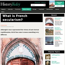 What is French secularism?
