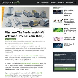 What Are The Fundamentals Of Art? (And How To Learn Them)