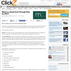 What Is a Good Click-Through Rate for PPC?