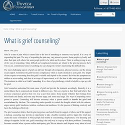 Grief counseling by Mahendra Trivedi