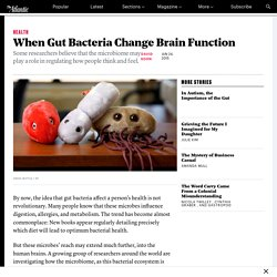 What Gut Bacteria Do to the Human Brain