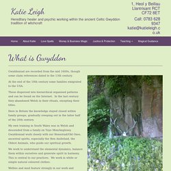What is Gwyddon - Katie Leigh
